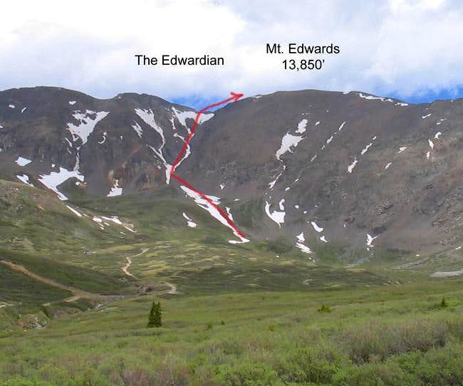 View of Mt Edwards and The...