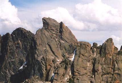 Nearby Warbonnet Peak
