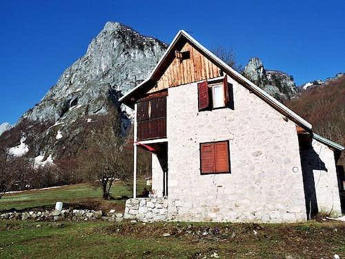 Grbaja Hut (1160 m) and...