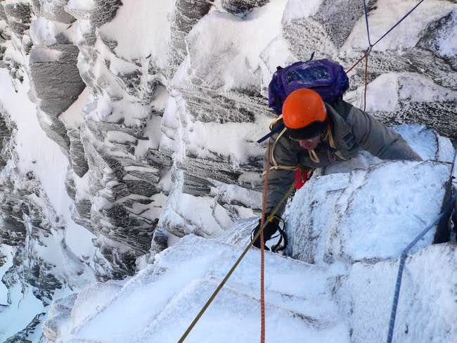Climbing tower gap