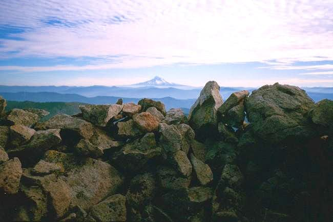 Mt. Hood from within one of...