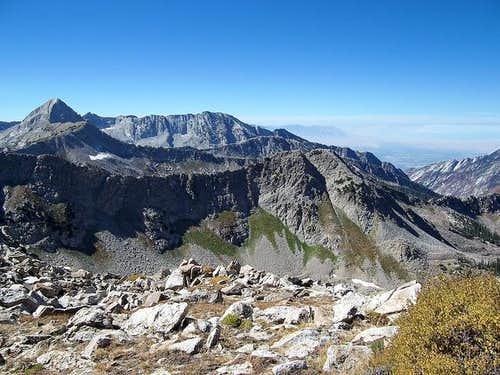 Pfeifferhorn (left) and North...
