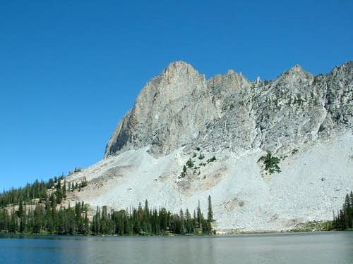 El Capitan from Alice Lake....