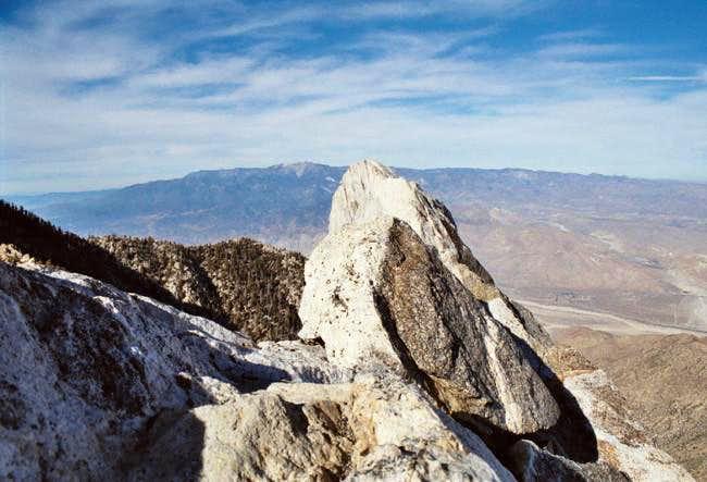 Summit block of Cornell Peak...