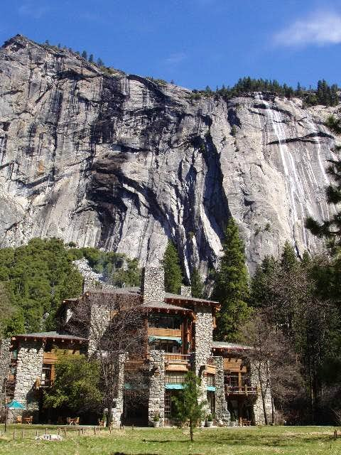 The Awhanee Lodge in Yosemite...