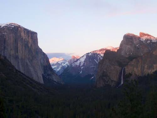 Tunnel View at Sunset,...