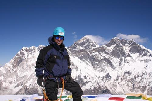 Mjollnir on the summit of Ama...