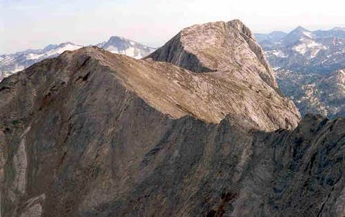 From Sacajawea Peak