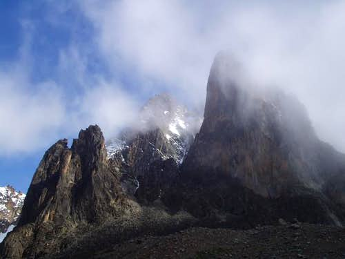 Mt. Kenya in its majesty.