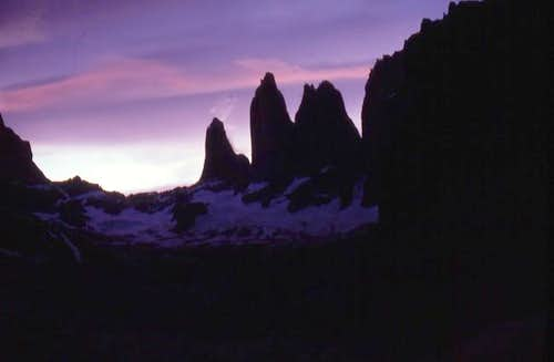 Sunset - Torres del Paine