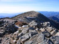 West Baldy from the...