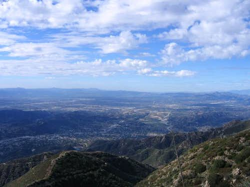 San Fernando Valley from the...