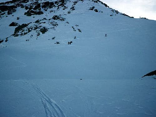 the last slopes that can be...