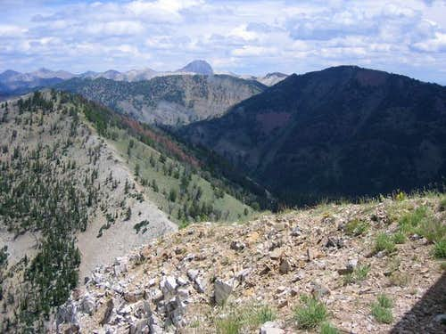 A summer view from the summit...