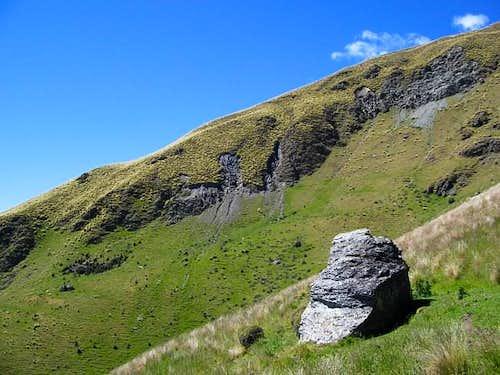 On the higher slopes of Roys Peak