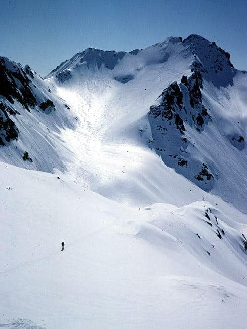 Cristallina from the slopes...