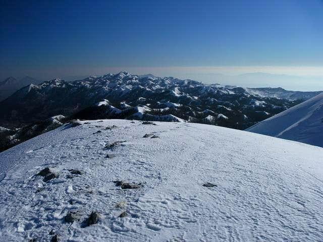 eastern biokovo, highest peak...