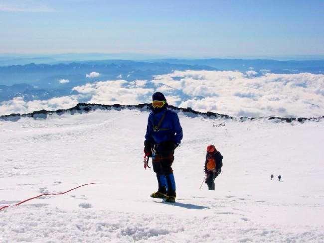 On the summit, June 16, 2001
