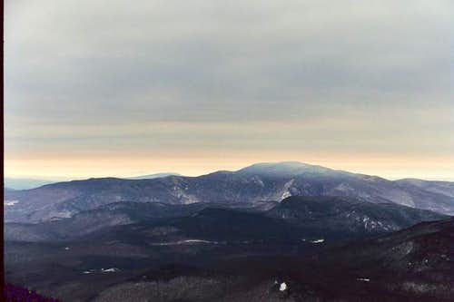 Mt. Moosilauke from Franconia...