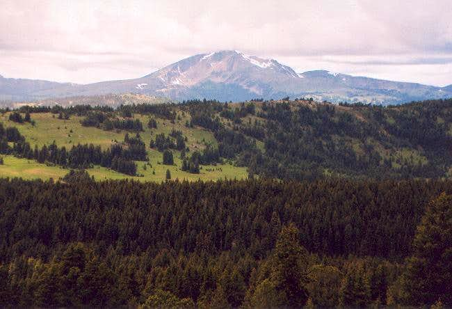 Sheep Mountain from the east...