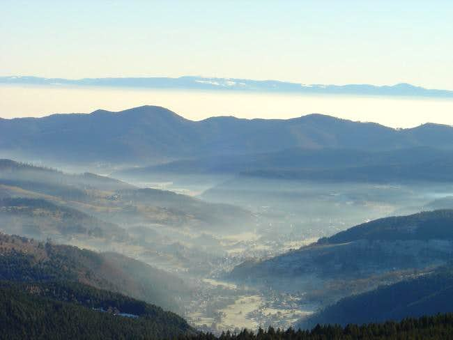 Munster Valley, Vosges with...