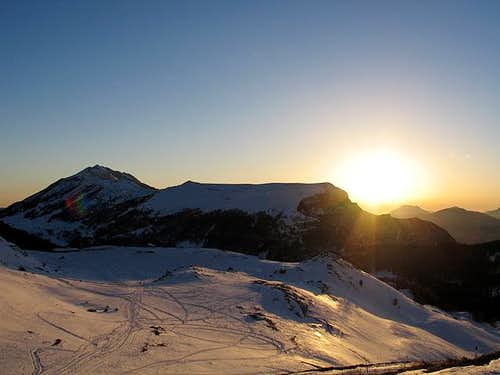 M.Baldo: sunset