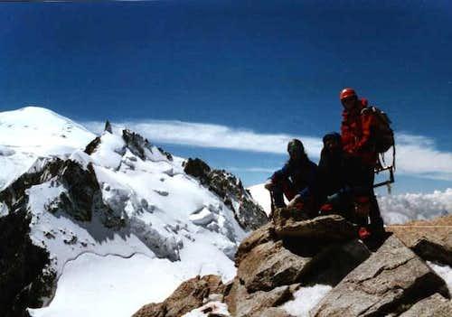 Mont Blanc du Tacul Summit....