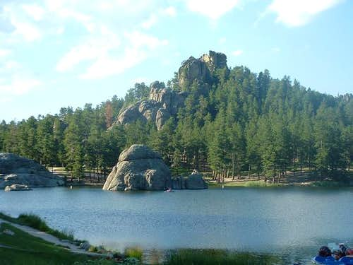 Sylvan Lake in Custer State...