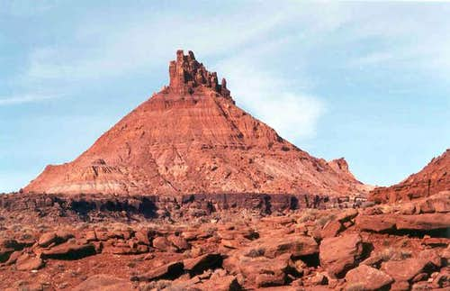 South Six Shooter Peak is one...