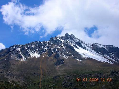 Iliniza Norte as seen from...