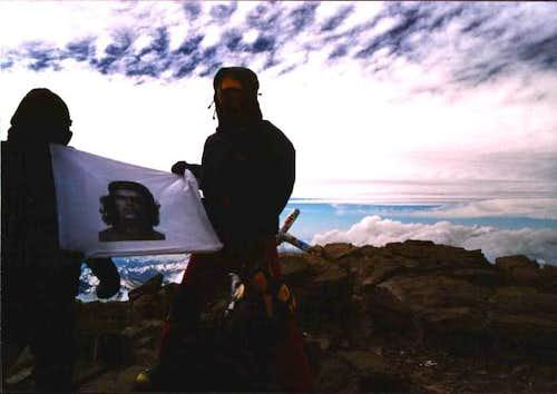 Aconcagua summit, where I met...