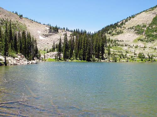 Ruth Lake-Cutthroat Lake/Pass Variation