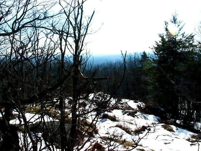 The summit shot on Little Mt....