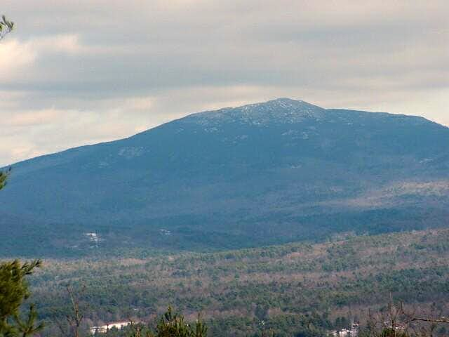 Close up of Mt. Monadnock...