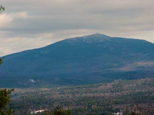 Close up of Mt. Monadnock...