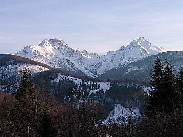 Mt Komovi from Mt Bjelasica
