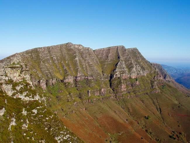 The final ridge from Tutulia...