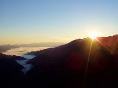 Sunrise from the Col of...