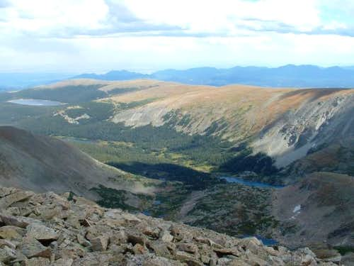 9/6/05: Niwot Mountain (left)...
