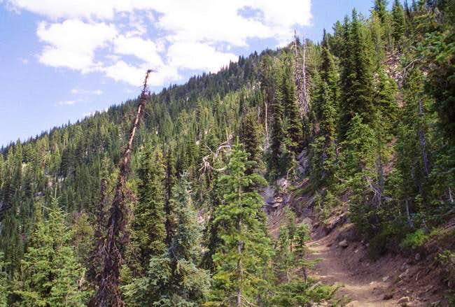 The Elkhorn Crest Trail...