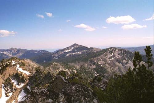 Looking south to Mt. Ruth...