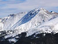 Parry Peak from the southwest...