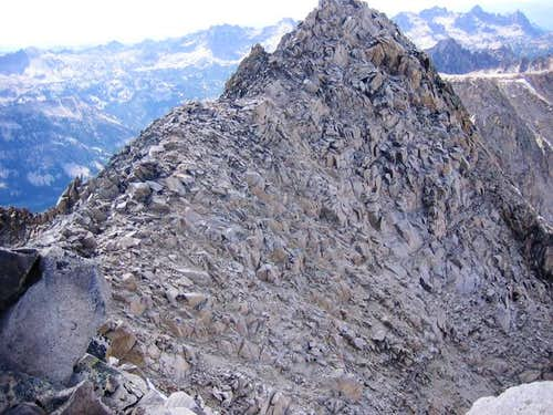 Decker Peak Summit Ridge from...