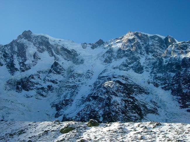 The main four Monte Rosa...