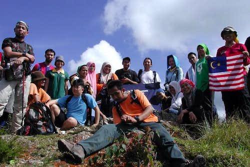 one of the peak near Mt...