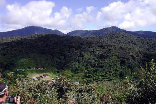 Mt Berembun neighbouring...