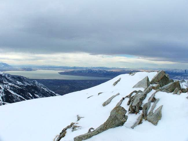 Looking south from Summit.