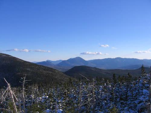Mt. Carrigain dominates the...