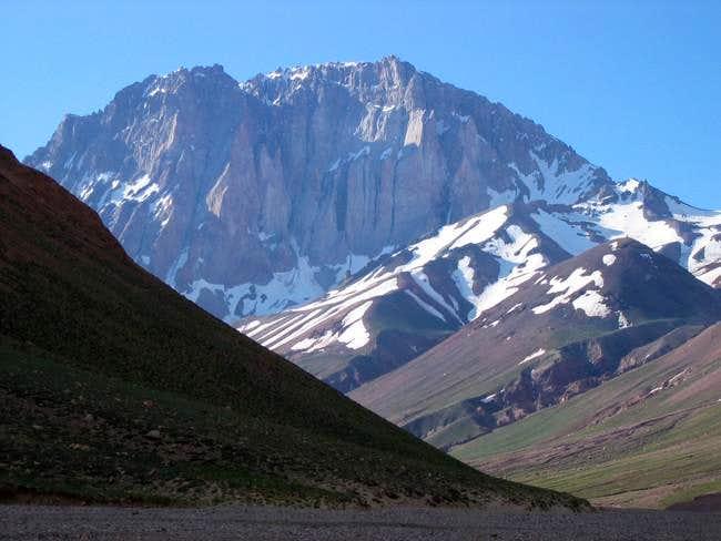 This peak is up the Vacas...