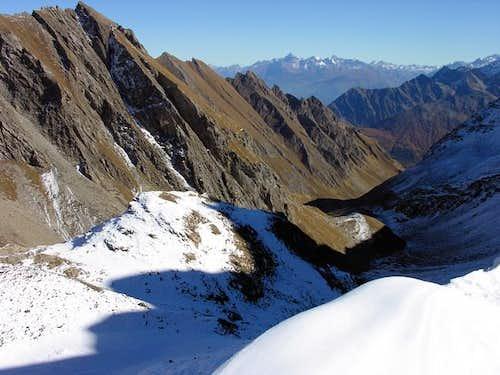 monte Emilius range